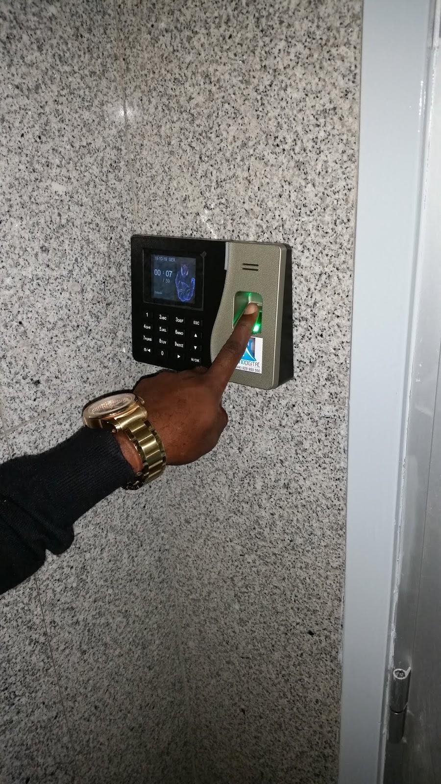 Relógio Biométrico, Livro de ponto, Bioponto