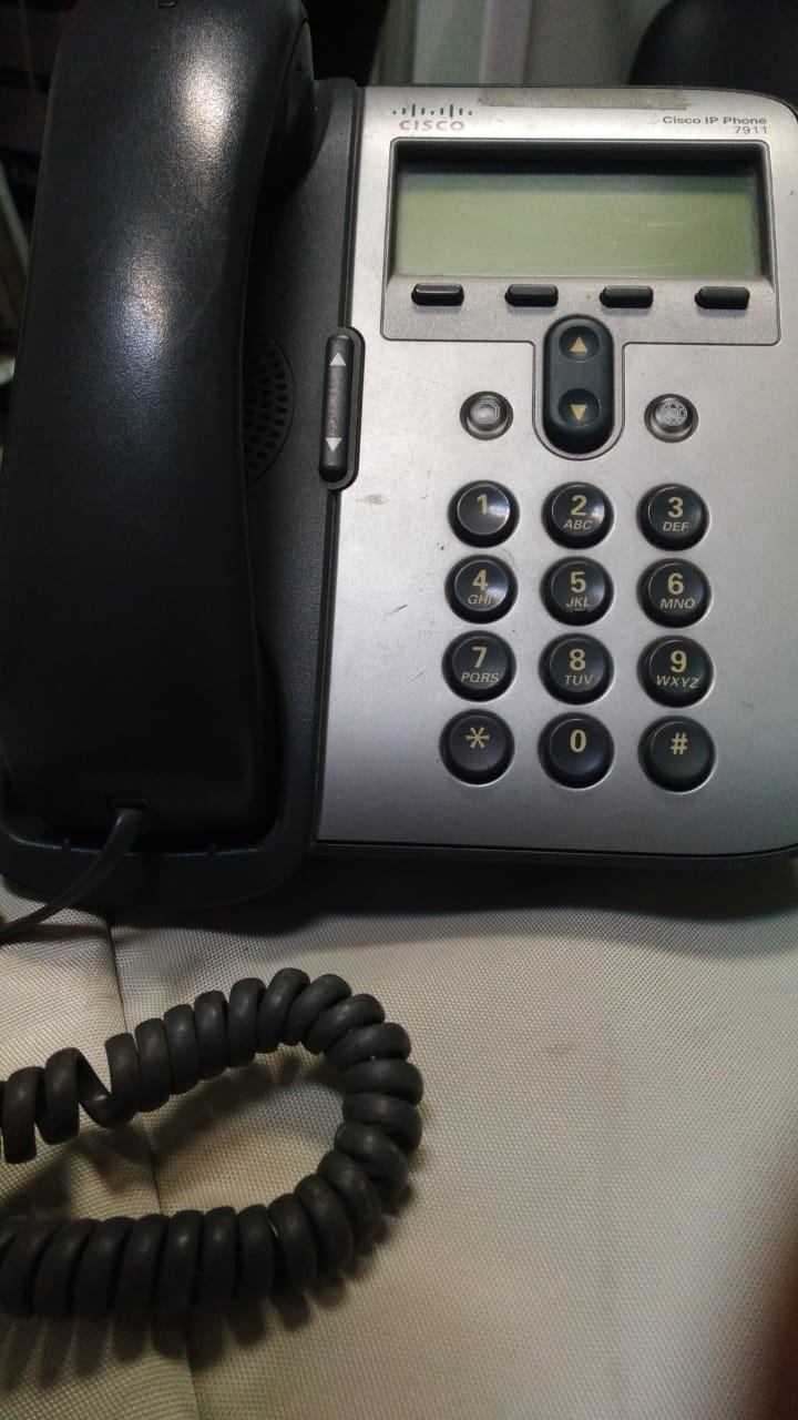 TELEFONES CISCO IP PHONE 7911