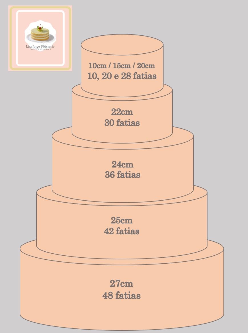 Bolo de Noivado/Casamento/Aniversário