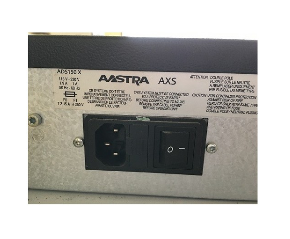 Central Telefónica VOIP – AASTRA AXS ADS150X Gateway – 12 ESP R5.3