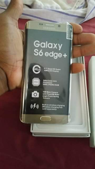 Telefone Sansung S6 Edge+