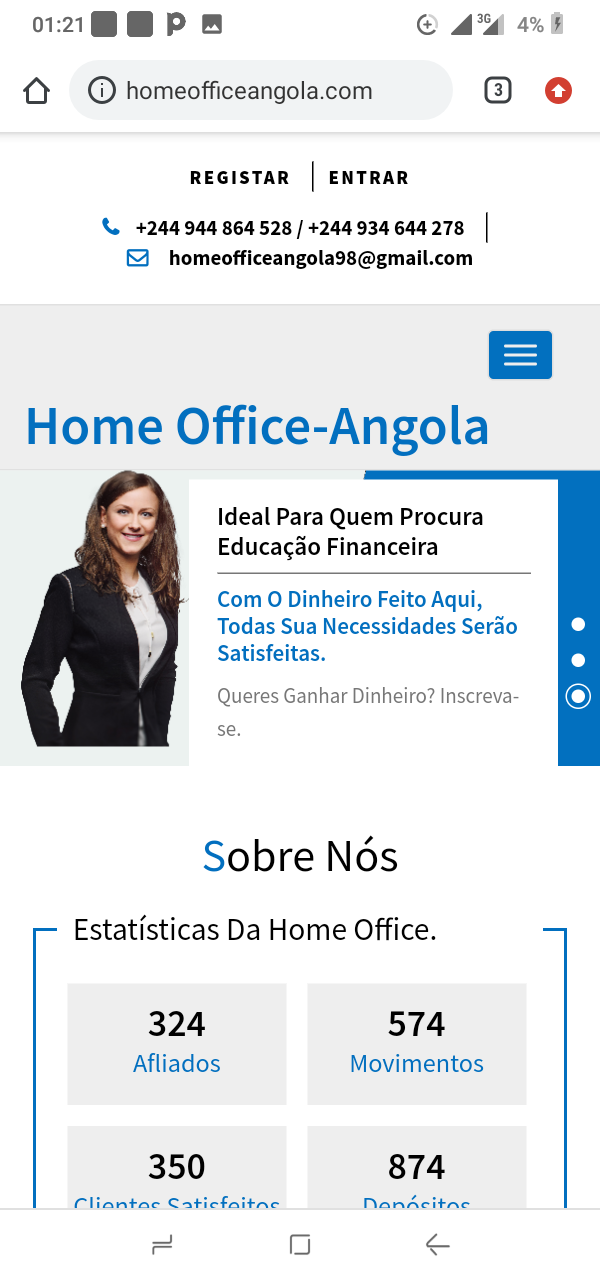 Home Office Angola