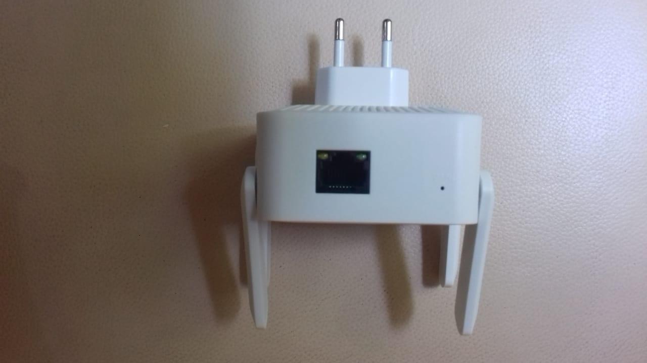 Repetidor Wifi & Access Point 5G de 1200 Mbps – roteador sem fio de longo alcance