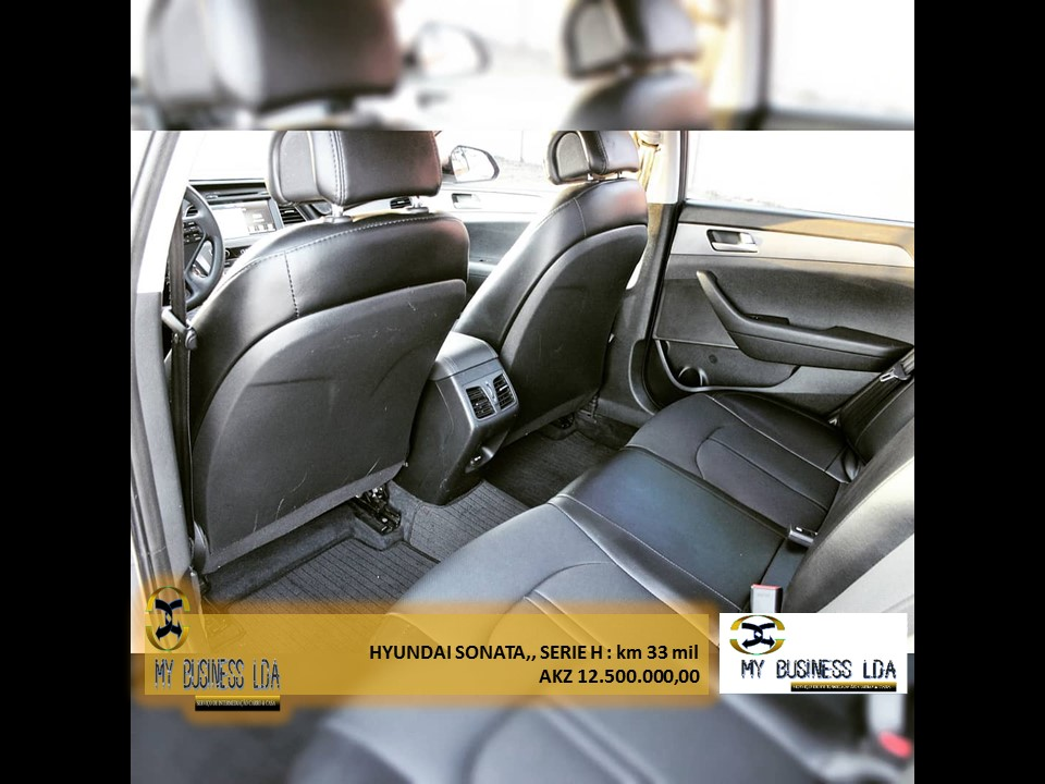 HYUNDAI Sonata 2017 cinza