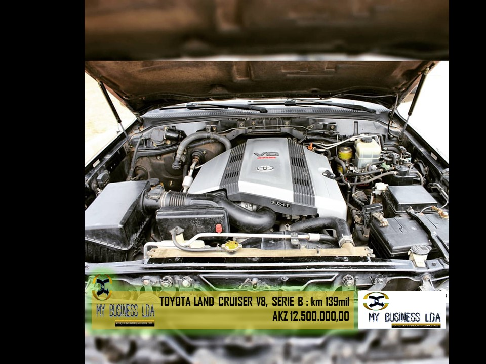 TOYOTA LAND Cruiser V8 • Motor selado