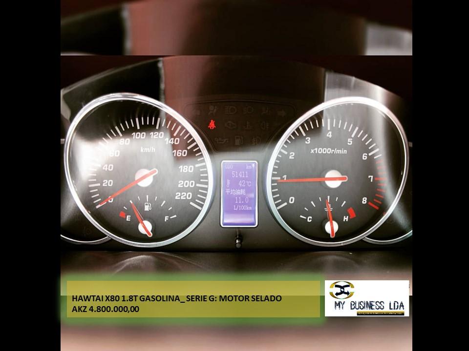 Hawtai X80 1.8T • Modelo 2014 • Motor selado