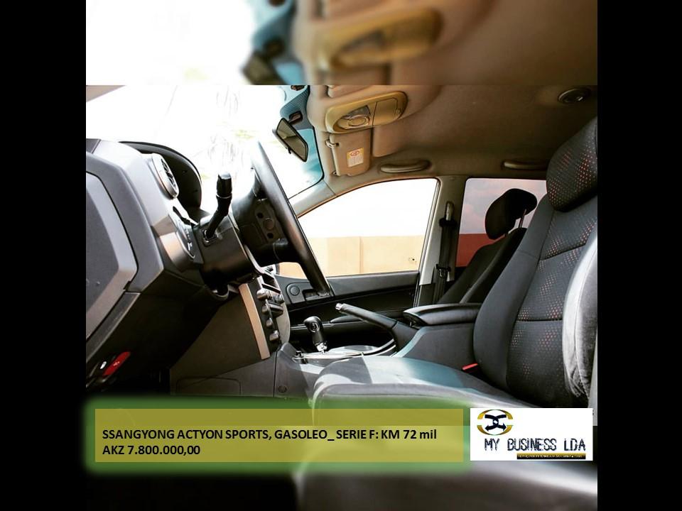 SSANGYONG ACTYON SPORTS • Modelo 2015 • Motor selado
